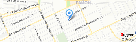 Средняя общеобразовательная школа №67 на карте Ростова-на-Дону