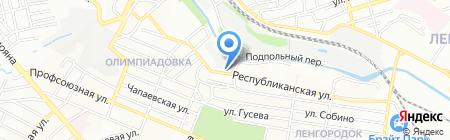 Ростовские окна на карте Ростова-на-Дону