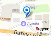Сочинский автоцентр на карте