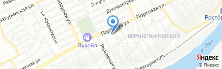 Теплосеть на карте Ростова-на-Дону
