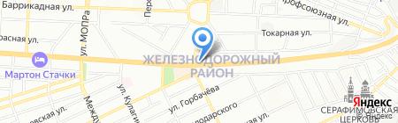 Арманн`и на карте Ростова-на-Дону
