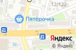 Схема проезда до компании Частное право в Ростове-на-Дону