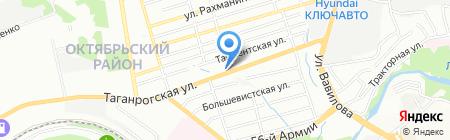 МАША на карте Ростова-на-Дону