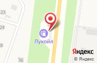 Схема проезда до компании АЗС Лукойл в Воскресеновке