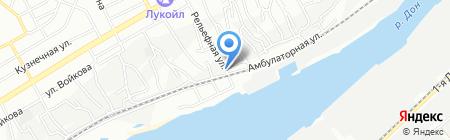 Детский сад №224 на карте Ростова-на-Дону