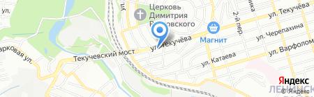 Ростов-Дон на карте Ростова-на-Дону