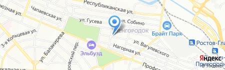 Don Diamond на карте Ростова-на-Дону