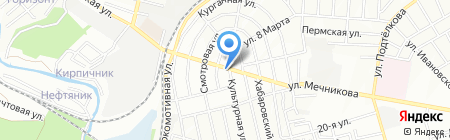 Детский сад №23 на карте Ростова-на-Дону
