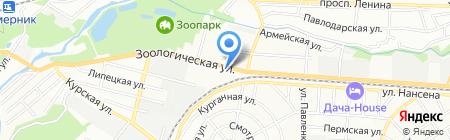 Оджахури на карте Ростова-на-Дону