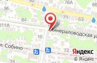 Схема проезда до компании Аквапупсики в Азове