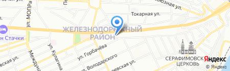 РостовИнвестСтрой на карте Ростова-на-Дону