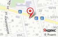 Схема проезда до компании Копия-Плюс в Астрахани