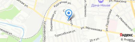 ЭКОЛАЙН на карте Ростова-на-Дону