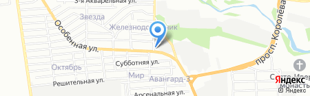 СТВ на карте Ростова-на-Дону