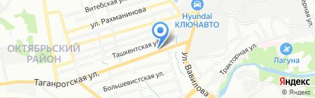 Русский Дом на карте Ростова-на-Дону