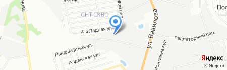 Алюминко на карте Ростова-на-Дону