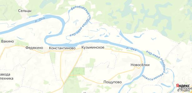 Аксёново на карте