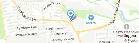 ОБЪЕКТ на карте Ростова-на-Дону