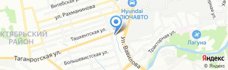 ДИК на карте Ростова-на-Дону