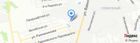 Органика-Юг на карте Ростова-на-Дону