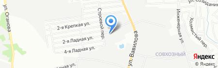 Гейзер-Юг на карте Ростова-на-Дону