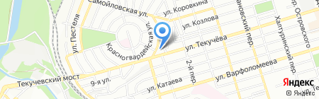 Спортсервис на карте Ростова-на-Дону