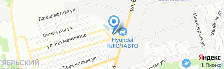 Югспецформа на карте Ростова-на-Дону