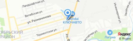 Лента Юг на карте Ростова-на-Дону