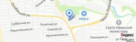 МастерГаз на карте Ростова-на-Дону