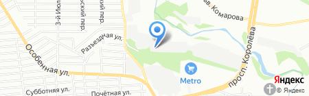 Балкон-Строй на карте Ростова-на-Дону