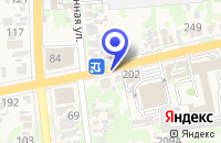 Схема проезда до компании СОЦИАЛЬНОЕ ПРАВО в Усть-Лабинске
