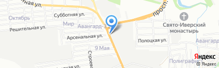 Ростехнострой на карте Ростова-на-Дону