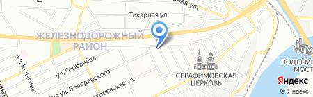 Инфанта на карте Ростова-на-Дону