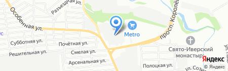 ШКОЛА ПРОМЫШЛЕННОГО АЛЬПИНИЗМА на карте Ростова-на-Дону
