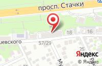Схема проезда до компании Реконструктор в Ростове-На-Дону