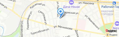 Банкомат ГУТА-БАНК на карте Ростова-на-Дону