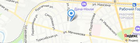 Планета-Юг на карте Ростова-на-Дону