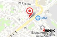 Схема проезда до компании Деловое Радио в Ростове-На-Дону
