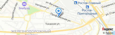 Детский сад №5 Теремок на карте Ростова-на-Дону