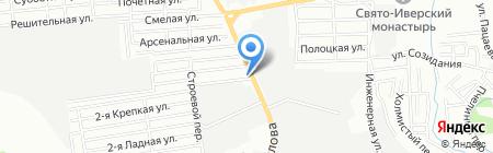 Станко на карте Ростова-на-Дону