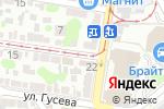 Схема проезда до компании Каскад в Ростове-на-Дону