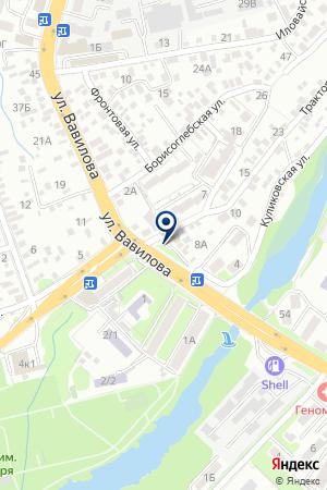 Воздух на карте Ростова-на-Дону