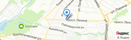 Соната на карте Ростова-на-Дону