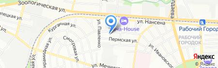Актив-Дон на карте Ростова-на-Дону