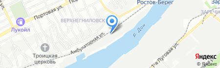 ДонМаслоПродукт на карте Ростова-на-Дону