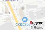 Схема проезда до компании Мир Климата.ру в Ростове-на-Дону