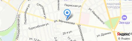 РТИ на карте Ростова-на-Дону