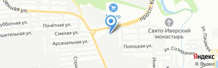 Политэкс на карте Ростова-на-Дону