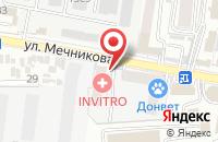 Схема проезда до компании Декон в Ростове-На-Дону