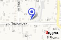 Схема проезда до компании СПП СЕМЕНА КУБАНИ в Усть-Лабинске
